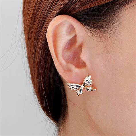 must these four trendy ear cuff wrap earrings