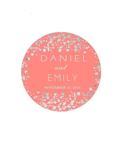 Wedding Card Labels by Wedding Favor Labels Personalized Wedding Stickers Thank You
