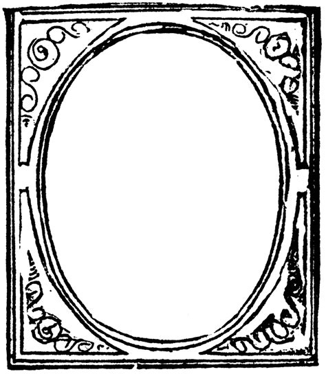 frame clipart picture frame clipart etc