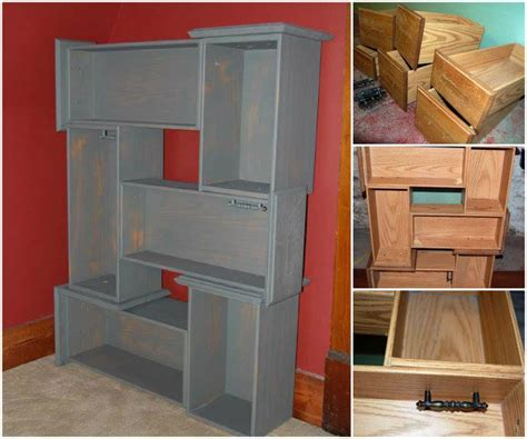 Kitchen Cabinet Refinishing Ideas creative ideas diy repurpose old drawers into awesome