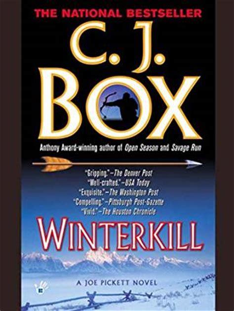 the a thriller novella books winterkill a joe pickett novel book 3 kindle edition