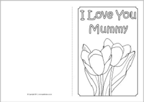 mothers day cards templates s day early play templates