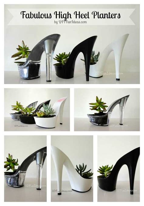 High Planters by Fabulous Diy High Heel Planter Tutorial Total Shoe