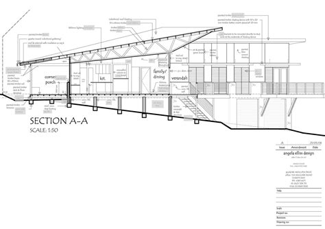 section of plan how to read house construction plans