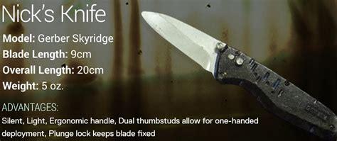 knives in the walking dead nick s knife fear the walking dead wiki fandom powered
