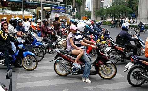 on motor bikes uber launches motorbike taxi service in bangkok