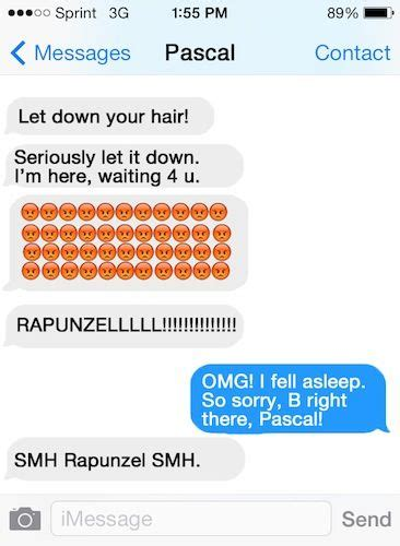 7 Conversational Gambits For That You Like by Hilarious Texts Text Messages And Disney Princess On