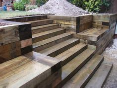 Railway Sleepers For Sale Melbourne by Eco Outdoor Alpine Retaining Wall Endicott Chipped