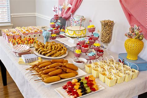 Carnival Themed Food | circus themed nurseries and parties project nursery