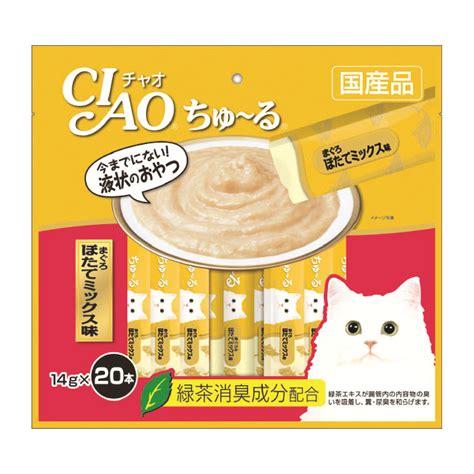 Ciao Chu Ru Tuna Ciao Chu Ru Tuna Scallop Mix 20x14g Loving Pets