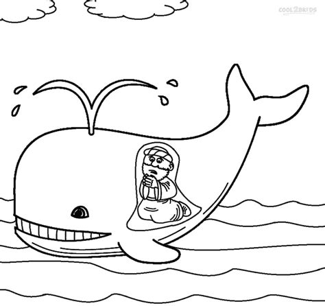 Printable Jonah And The Whale Coloring Pages For Kids Jonah And The Big Fish Coloring Page
