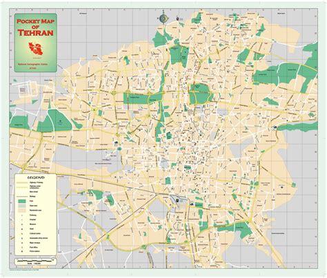 teran map tehran map tehran shake