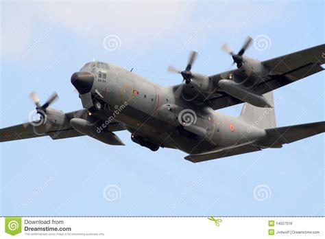 military  hercules plane editorial stock photo image