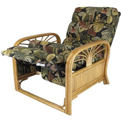rattan reclining chairs sundance rattan recliner honey