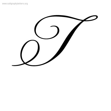 tattoo fonts letter t calligraphy letters calligraphy lettering styles to
