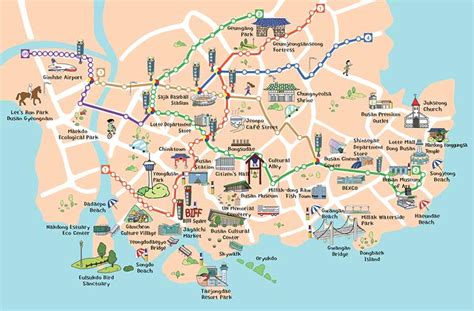 busan south korea map busan there s more to see to eat and to do this season