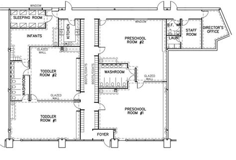 1000 Images About Preschool Daycare Floor Plans On Preschool Building Plans And Designs