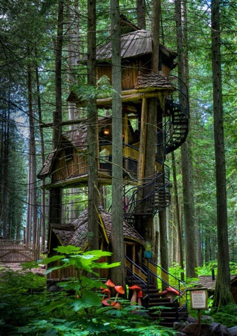 tree houses fairy tale treehouse taster 3 wildly different types of tree houses urbanist