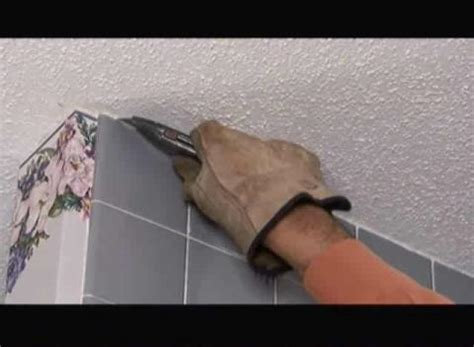 removing bathroom wall tile how to remove shower ceramic wall tile popscreen