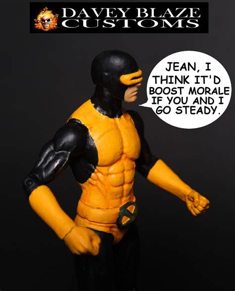 Costum Cyclops 2 cyclops 1 custom figure by daveyblazecustoms on deviantart
