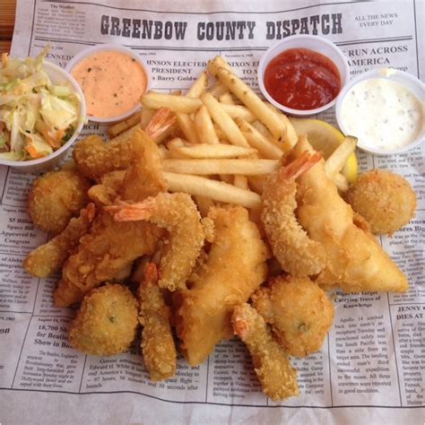 Tv Dinners Forrest Gumps Coconut Shrimp by Forrest S Seafood Feast At Bubba Gump Shrimp Company