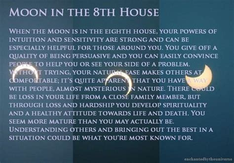 8th house astrology moon in the 8th house astrology stuff pinterest