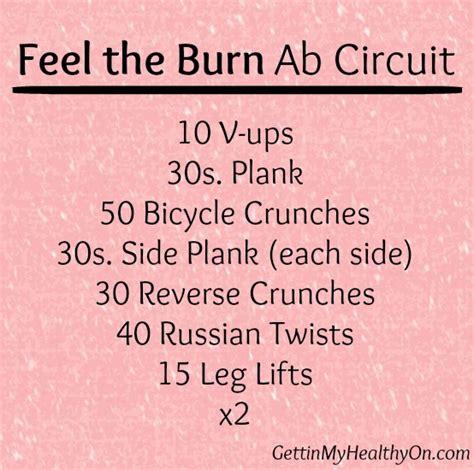 my fitness list