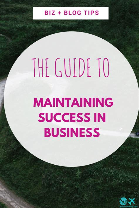 successful business is reliant on certain conditions you not the guide to maintaining success in business
