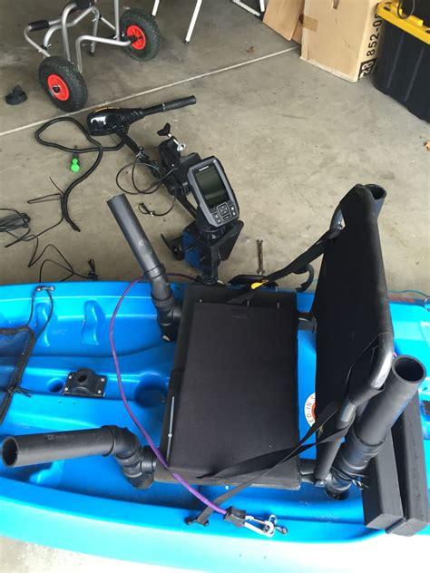kayak raised seat raised seat kayak diy kayk mods kayaks and