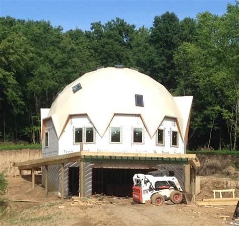 are the styrofoam dome homes as durable as the monolithic dome home building photo in new york dome assembly photo covering an econodome kit