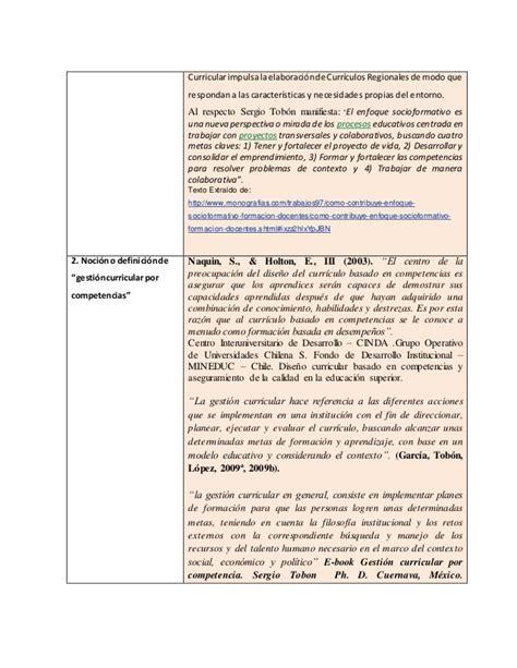 marco curricular y aprendizajes fundamentales jose encinas el enfoque de competencia en la gesti 243 n curricular