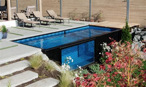 elbar pool houses from shipping modpools shipping container pools cool material