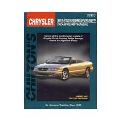 Chrysler Parts Usa All Chrysler Cirrus Parts Price Compare