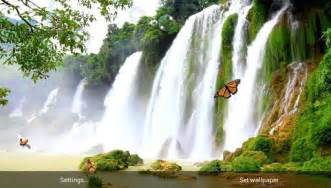 wallpaper alam apk waterfall free live wallpaper app for android