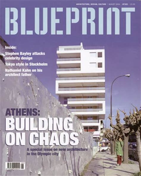 architectural design magazine editor opinions on blueprint architecture magazine
