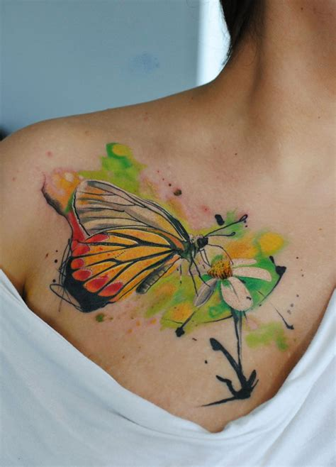 tattoo flower with butterfly 50 butterfly tattoos with flowers for women nenuno creative