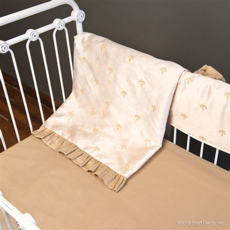 Fleur De Lis Crib Bedding Fleur De Lis Bumperless Custom Fleur Crib Bedding