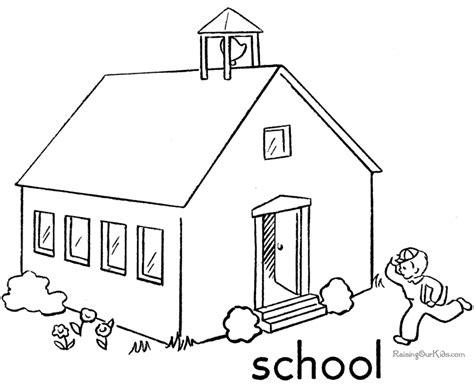 escuela lecturas infantiles dibujos para colorear y pintar escuela 3 edificios y arquitectura p 225 ginas para colorear