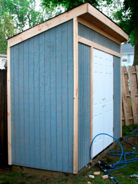 how to build a backyard shed how to build a storage shed for garden tools hgtv