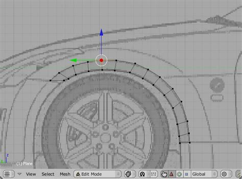blender tutorial tire blender car modeling