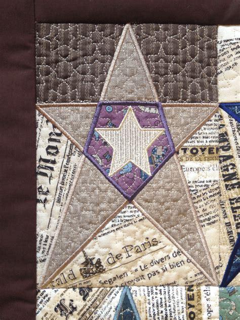 hoop embroidery design star blocks quilt
