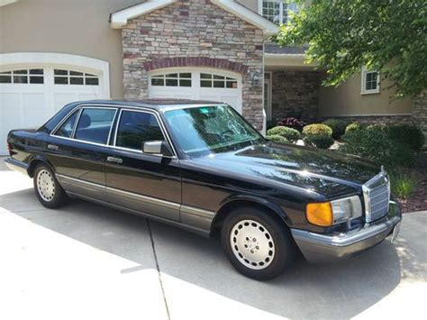 auto air conditioning service 1991 mercedes benz s class lane departure warning buy used 1991 mercedes benz 300sel excellent condition with thule roof rack in pittston