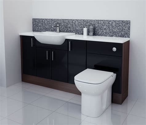 Black Gloss Bathroom Furniture With Model Exle In Gloss Black Bathroom Furniture