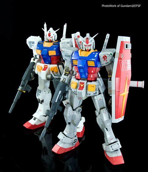 Kaos Gundam Gundam Mobile Suit 31 gundam 1 100 rx 78 2 gundam comparison images by