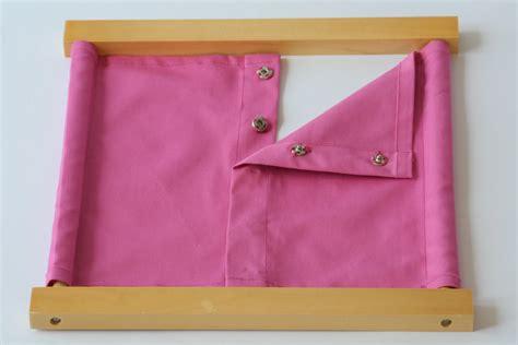 snap closure dressing frame montessori pre school supplies