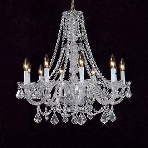 Bohemian Chandelier Bohemian Chandelier In Chrome Finish Traditional