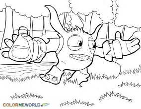 skylander trap team coloring pages kids coloring