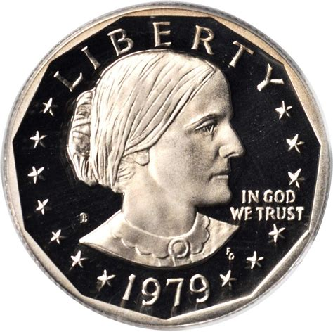 value of 1979 d susan b anthony dollar sell modern coins