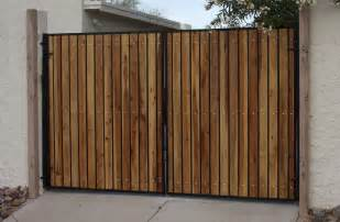 iron gates w wood martins fencing fabricating and