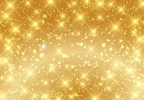 Beautiful Gold Sparkle Background Vector   Download Free